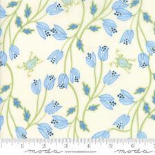 MODA Fabric ~ BLOOMSBURY ~ by Franny & Jane (47511 11) Cream - by 1/2 yard