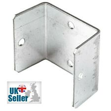 More details for fence panel clips 40mm 46mm 52mm galvanised brackets fencing post