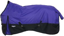 "Winter Horse Turnout Blanket - 600D - 250 Grams - Sizes 51"" to 84"" - Purple"