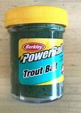 Berkley PowerBait Biodegradable Trout Bait Green Pumpkin 1.75 oz BTBGP2