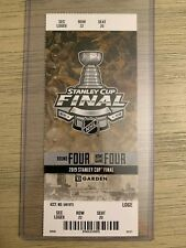 2019 NHL Stanley Cup - Boston Bruins vs St Louis Blues Game 7 Ticket Stub 6/12