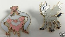 M Mega Diancie & Absol EX Metal Pin - Pokemon Collectible Promo - Set of 2 BOTH