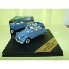 Citroen 2cv AZU Open Roof 1966 Bleu vitesse L108b 1 43