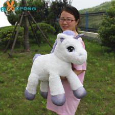 65cm Unicorn Plush Toy Soft Stuffed Cartoon Girls Dolls Animal Horse Toy Gift