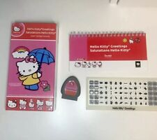 Cricut Hello Kitty Greetings Salutations w/Cartridge Overlay Manual Scrapbook