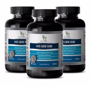 Health hair ANTI GRAY HAIR CARE Damaged hair repair 3B