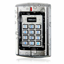 Sebury Metal Waterproof Standalone Access Keypad Wiegand 26 for 125Khz EM/Card.