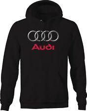 Hoodie Men Audi Rings Emblem Logo
