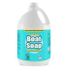 Boat Soap and Wax - Non Toxic Water Spot Free - Boat Soap, 1 Gallon
