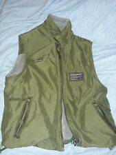 U.S. Expedition Reversible Boys Vest. Gray/green. Small (about a size 8)