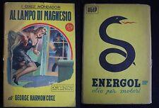 ***I GIALLI MONDADORI N.332 (11/6/55)*** AL LAMPO DI MAGNESIO - G. H. COXE