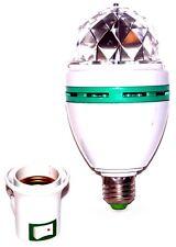 2x RGB Rotazioni PARTY LUCE LAMPADA LUCE Palla da discoteca effetto luminoso+