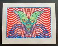 Psycho Monkey Art Print Lindsey Kuhn S/N