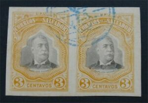 nystamps El Salvador Stamp Used Proof       S24x1052