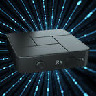 Bluetooth 5.0 Transmitter Receiver for TV Car Sound System with Mic AUX RCA