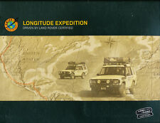 2003 2002 Land Rover Discovery Longitude Expedition Media Brochure and CD