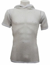 Magliette da uomo bianche con cappuccio taglia L