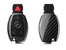 Pinalloy Carbon Fiber Fern Keyless Schlüssel Abdeckung Hülle für Mercedes Benz