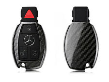 Pinalloy Carbon Fiber Fern Keyless Schlüssel Abdeckung Hülle fit Mercedes Benz
