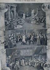 Antique Theatre-Flybill Apollo Theatre London 1907 Opera/Production Tom Jones