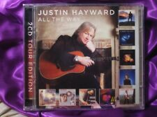 JUSTIN HAYWARD - All the Way 2-CD tour edition, 30 songs - MOODY BLUES