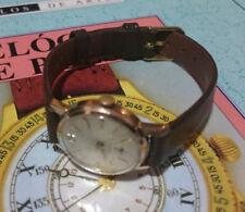Relojes de pulsera de cuerda de metal dorado