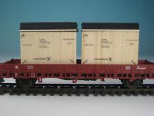 """DUHA Ladegut Spur H0 11286 - 2 Kisten """"TOS"""""""