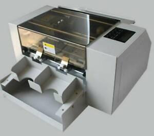 A4 220V Size Automatic Business Card Cutting Machine Electric Paper Card Cutter