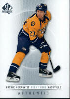 2012-13 Upper Deck SP Authentic Hockey Card Singles You Pick Buy 4 Get 2 FREE