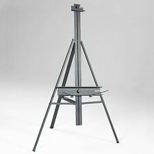 Black Aluminum Artist Art | Studio Floor Display Easel