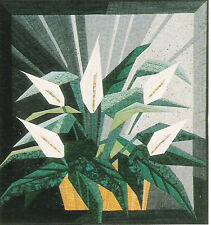 Peace Lily Foundation Piecing Quilt Pattern