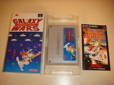 Galaxy Wars Nintendo Super Famicom Japan