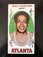 1969 Topps Walt Hazzard RC #27 Basketball Card NM
