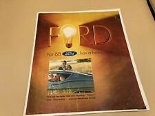 1968 FORD NEWSPAPER ADD INSERT FORD MUSTANG TORINO THUNDERBIRD WAGON FALCON