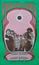 BLOOD SWEAT AND TEARS GRANDE BALLROOM 1968 concert poster GARY GRIMSHAW NM