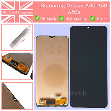 For Samsung Galaxy A30 A50 A50s Black LCD Touch Screen Glass Digitizer UK