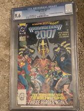 DC Comics ARMAGEDDON 2001 #1 cgc 9.6 1st Appearance MONARCH & WAVERIDER