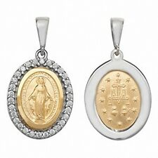 Madonna pendant Yellow Gold Madonna Medal