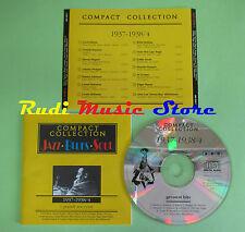 CD JAZZ BLUES SOUL 1937-1938/4 compilation PROMO 1995 BASIE HOLIDAY COOPER (C25)