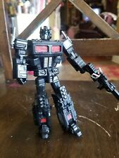 TRANSFORMERS : Custom Painted BLACK OPTIMUS PRIME