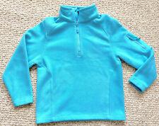 Outfitter Trading Co Kids Boys Girls Sm Performance Fleece Jacket 1/4 Zip Blue
