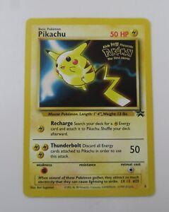 Pokemon Cards: Wizards Black Star Promo: Pikachu 4 LP #A