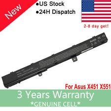 Battery for Asus X451M X451MA X551M X551MA D550M D550 A31LJ91 X45LI9C Laptop FS