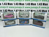 LOT n°14: 6 X 3 inches 1/64 NOREV alpine new, fiat 500, 208, ZOE, Class A, conce