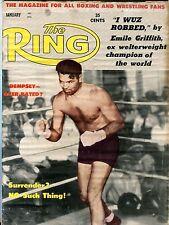 The Ring Boxing Magazine January 1962 Jack Dempsey VG No ML 100516jhe