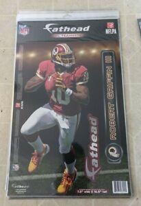 "ROBERT GRIFFIN III NFL Washington Redskins Fathead Teammates 7.5"" x 16.5"""