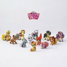 12pcs Game Disney Princess Palace Pets 2cm-4cm PVC Figure Set Loose