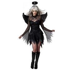 Dark Angel Devil Women Costume Sexy Lady Fancy Dress Halloween Cosplay Party