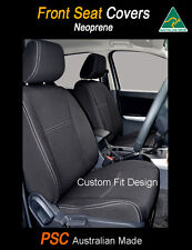 Seat Cover fits Toyota Landcruiser 100 Series Front(FB+MP) Waterproof Neoprene