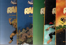 LOT 5 BDs RAHAN n°1-3-4-5-6 ¤  ¤ 1996 COLLECTION FREDERIQUE